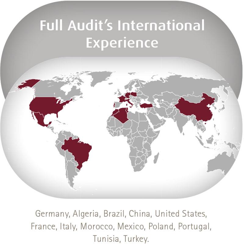 Full Audit's International Experience