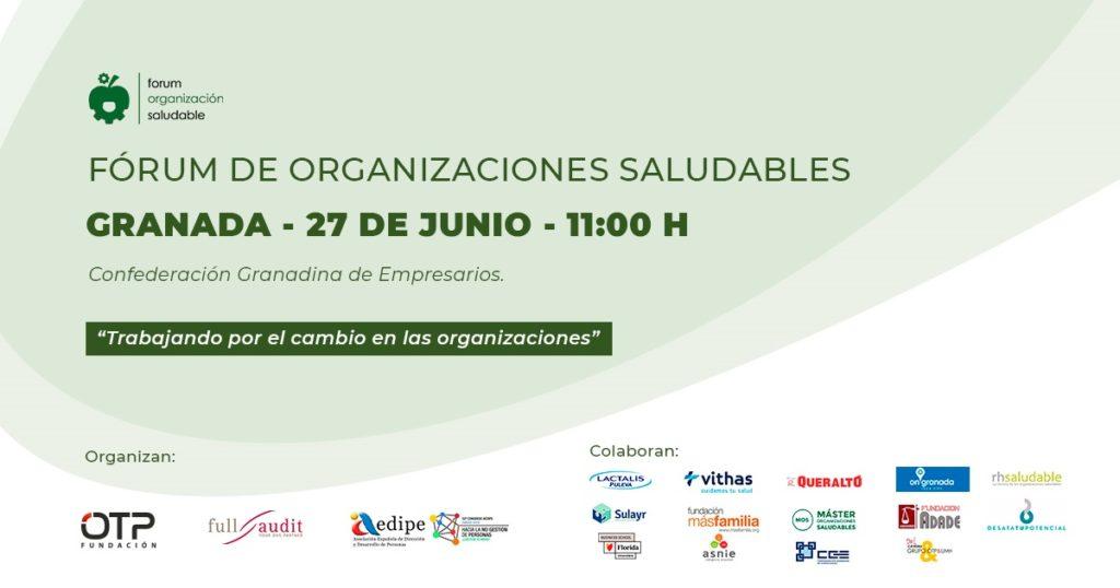 Fórum de Organizaciones Saludables Granada