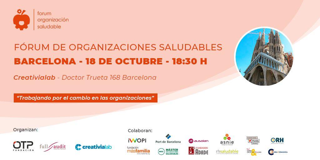 Fórum de Organizaciones Saludables Barcelona