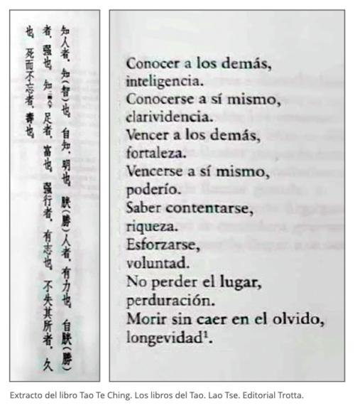 Tao Te Ching. Los libros del Tao. Lao Tse. Editorial Trotta.