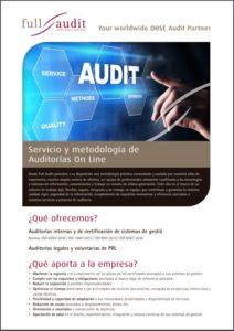 catalogo auditorias online