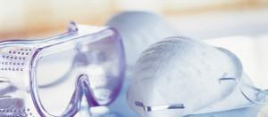 Mascarilla y gafas protectoras